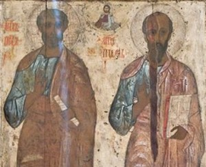 Earliest images of Apostles - Peter and Paul