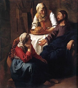 Jesus, Martha and Mary