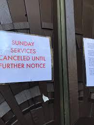End Times Church Cancelled